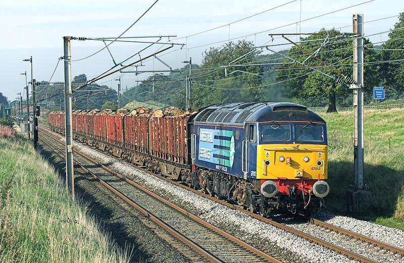 57012 Woodacre 11/9/2009<br /> 6J37 1251 Carlisle Yard-Chirk