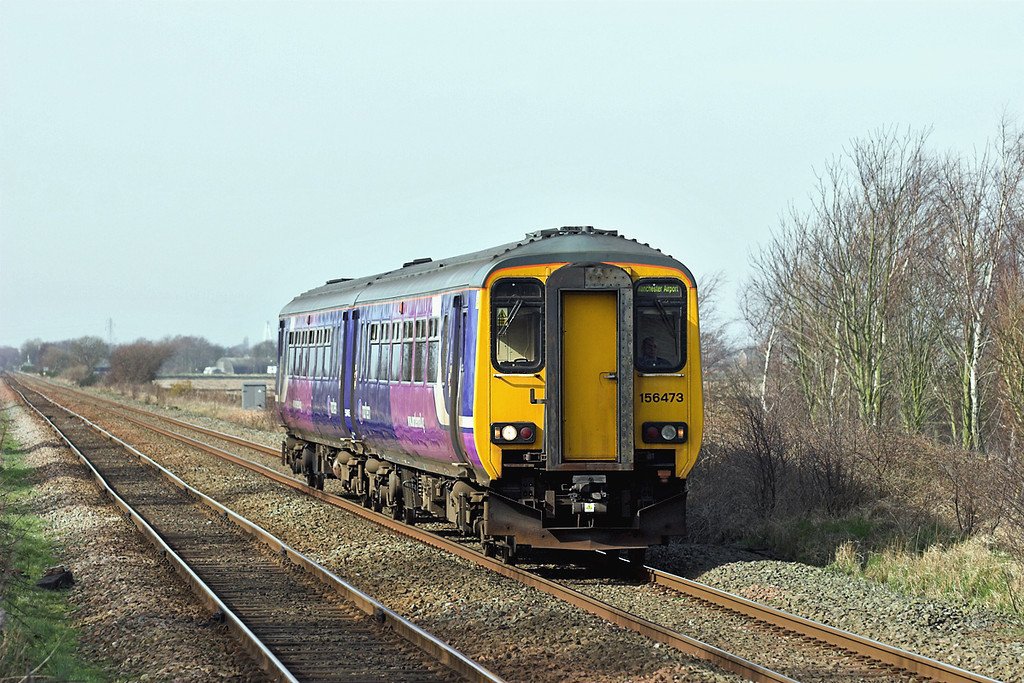 156473 Bescar Lane 12/3/2009<br /> 2A12 1224 Southport-Manchester Airport
