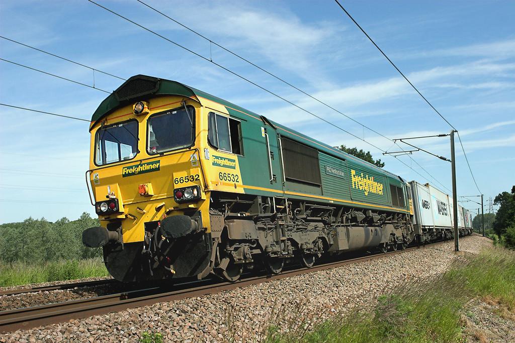 66532 Brantham 12/6/2009<br /> 4R97 0843 Felixstowe FLT-Tilbury FLT