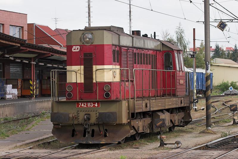 742113 Pardubice hlavní nádraží 12/9/2009