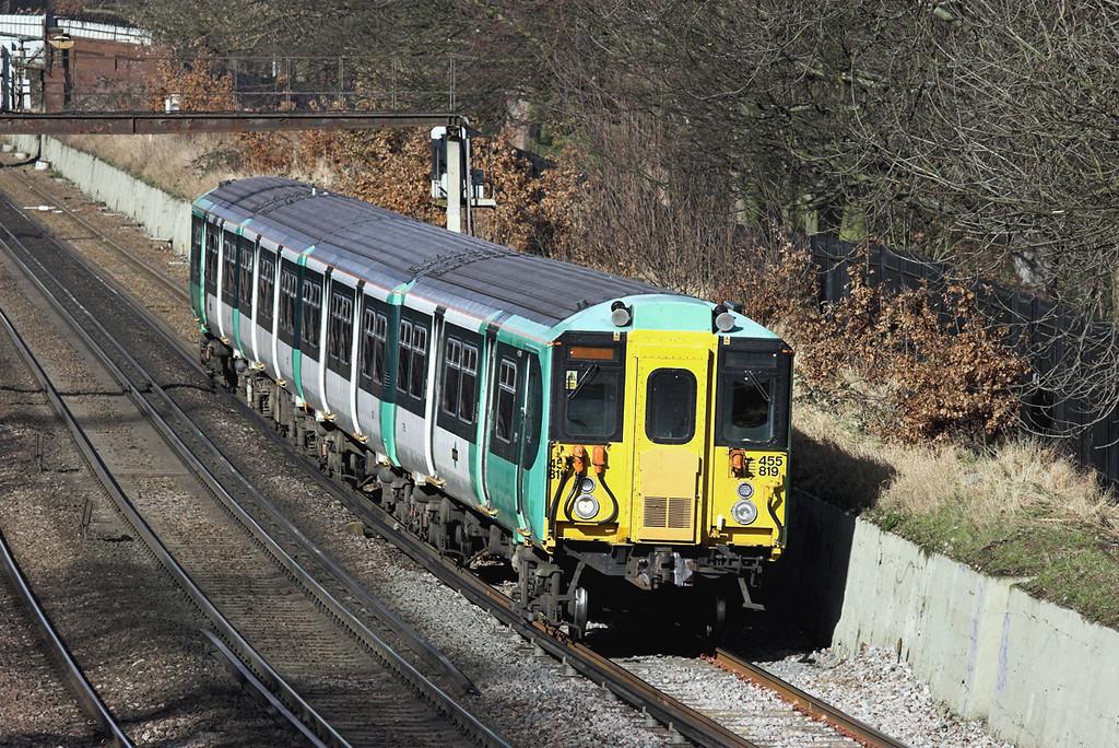455819 Wandsworth Common 13/2/2009<br /> 2R50 1203 London Victoria-Sutton
