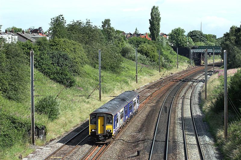150271 Penwortham 13/7/2009<br /> 2N14 0844 Blackpool South-Colne
