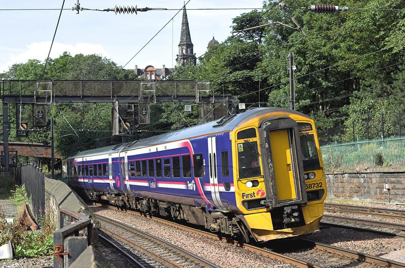 158732 Edinburgh 13/8/2009<br /> 2P80 0958 Dunblane-Edinburgh