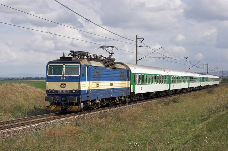 363023 Kralićky 13/9/2009<br /> R904 1032 Zábřeh na Morave-Brno hl.n