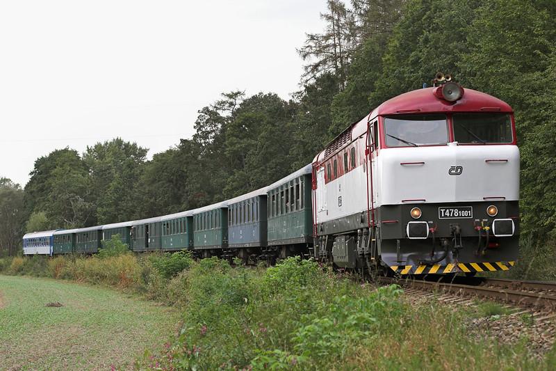T478-1001 Stepanovice 13/9/2009<br /> OS32253 1634 Nedvědice-Veseli