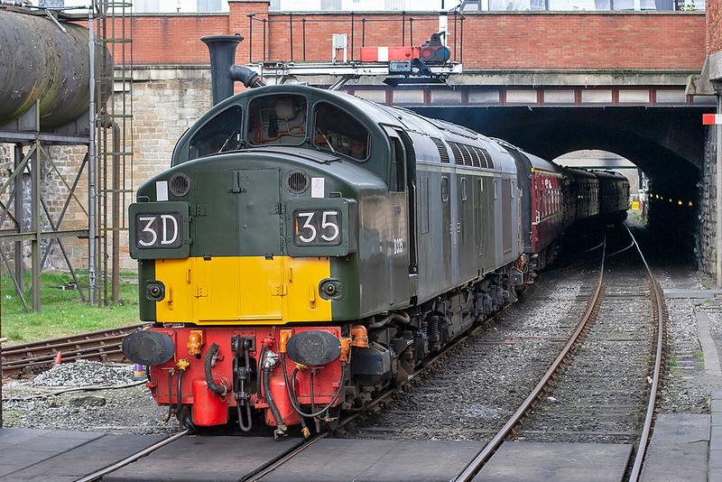 D335 (40135), Bury Bolton Street 14/3/2009<br /> 2J78 1426 Rawtenstall-Heywood