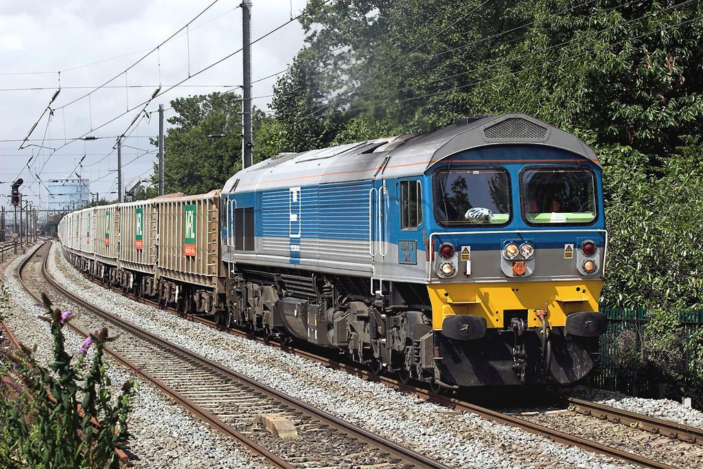 59002 Hanwell 15/7/2009<br /> 7A09 0712 Merehead-Acton Yard