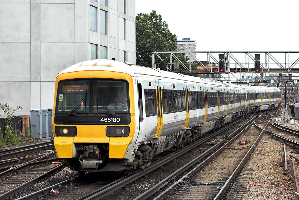 465180 and 465187, London Bridge 15/7/2009<br /> 5P61 1554 Grove Park-London Cannon Street