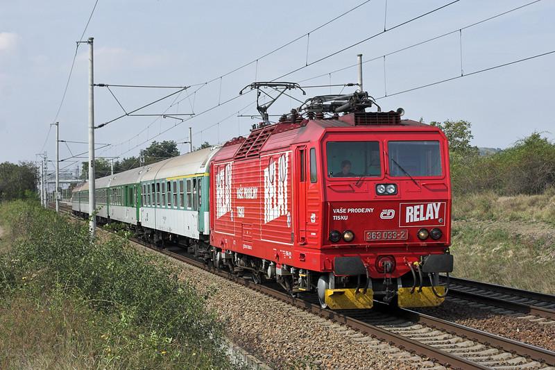 363033 Popice 16/9/2009<br /> R809 1230 Brno hl.n-Olomouc hl.n