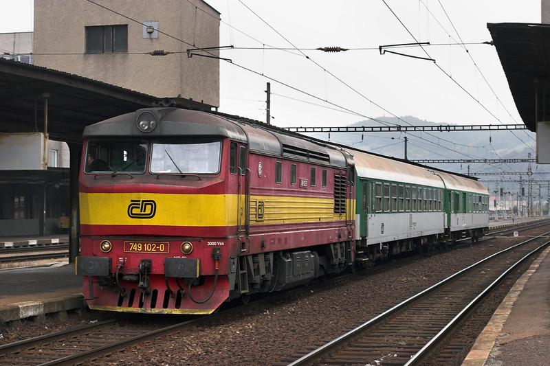 749102 Beroun 17/9/2009<br /> R1248 1136 Praha hl.n-České Budĕjovice