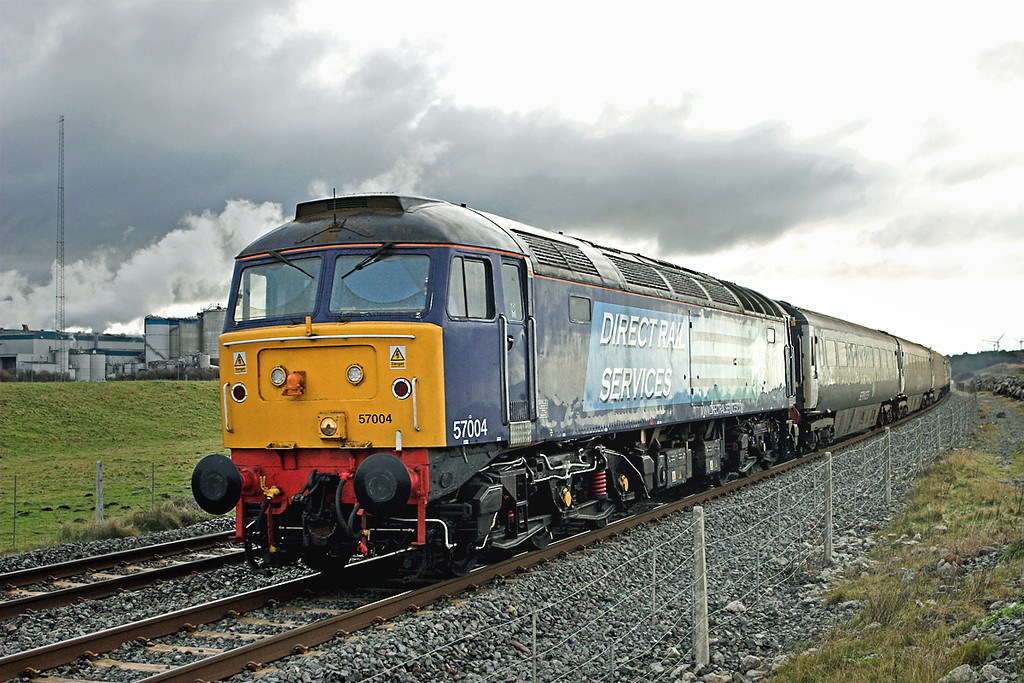 57004 Siddick 17/12/2009<br /> 2T28 1220 Workington-Maryport
