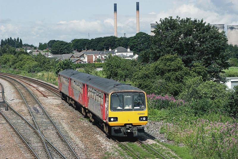 144023 Knottingley 20/7/2009<br /> 5F14 1058 Knottingley-Knottingley