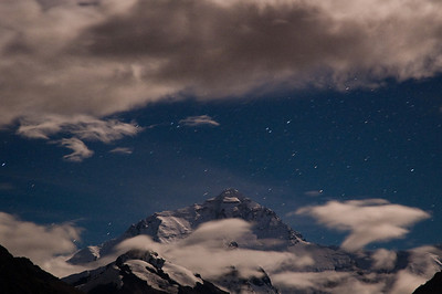 Mt. Everest by Moonlight