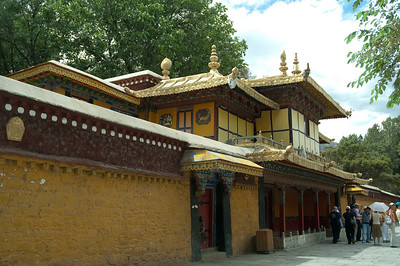 Norbulingka Summer Palace, the summer home of the Dalai Lama.