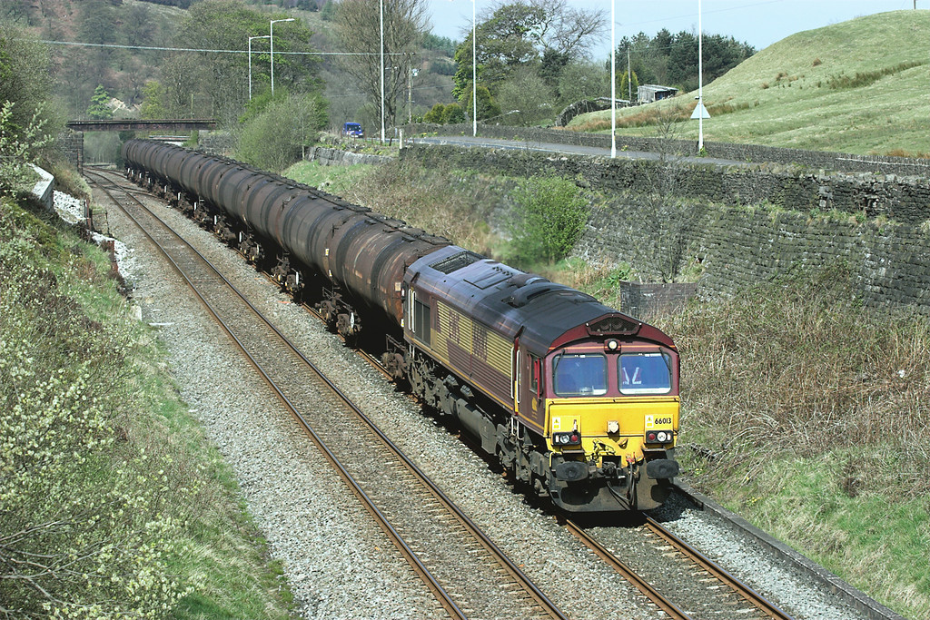 66013 Copy Pit 22/4/2009<br /> 6E32 0855 Preston Docks-Lindsey OR