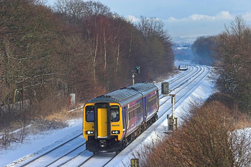 156428 Lea 22/12/2009<br /> 2N97 1322 Manchester Victoria-Blackpool North