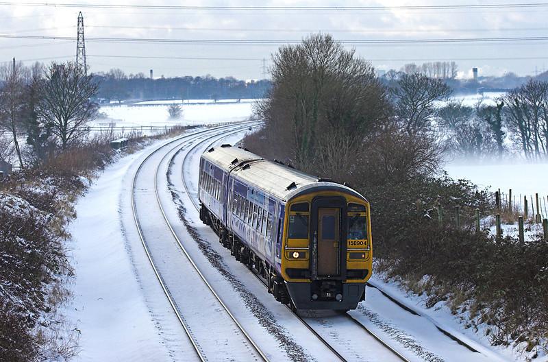 158904 Lea 22/12/2009<br /> 1B33 1429 Blackpool North-York