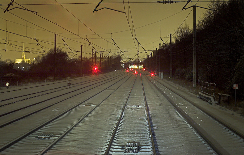 South of Preston Station, 22/12/2009