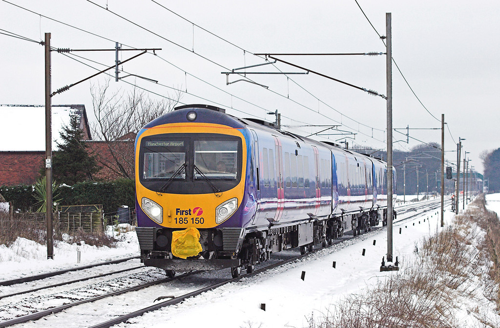 185150 Brock 24/12/2009<br /> 1M91 0710 Glasgow Central-Manchester Airport