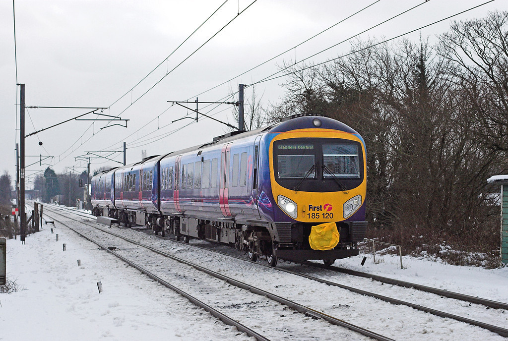 185120 Brock 24/12/2009<br /> 1S40 0900 Manchester Airport-Glasgow Central
