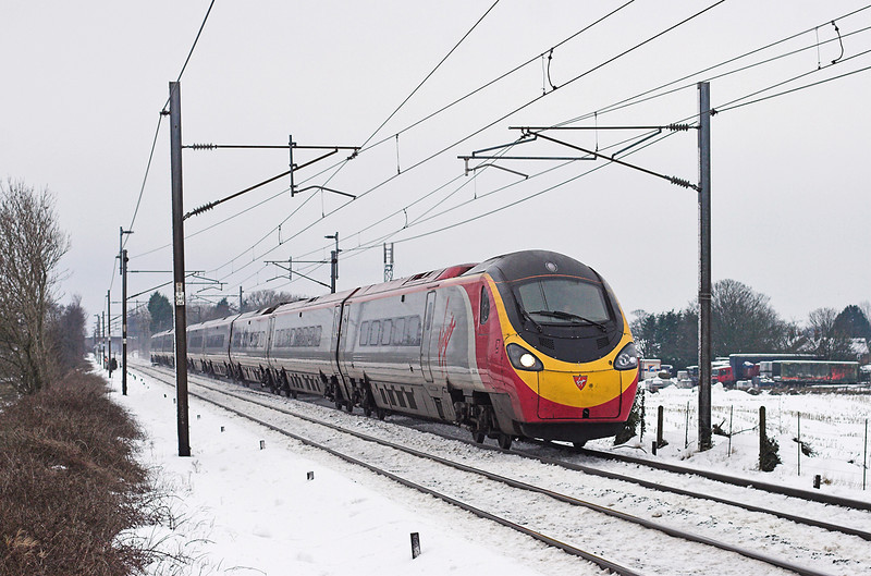 390007 Brock 24/12/2009<br /> 1S42 0730 London Euston-Glasgow Central