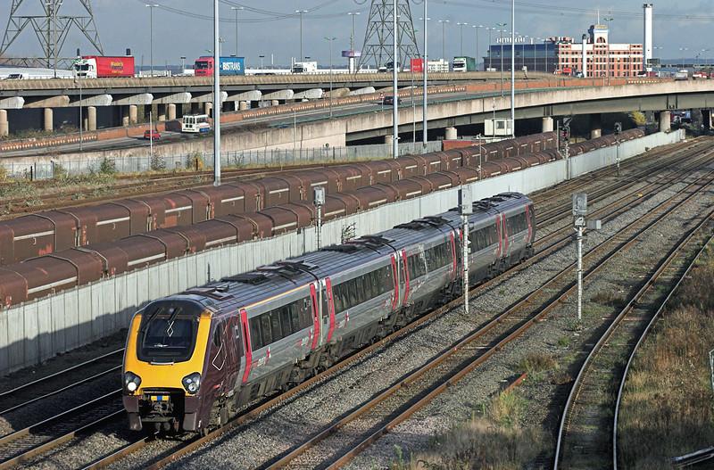 221122 Washwood Heath 26/11/2009<br /> 1Z56 1044 Newcastle-Plymouth