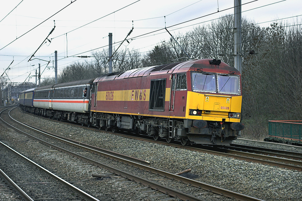 60026 Lancaster 31/1/2009<br /> 1Z92 0717 London Kings Cross-Preston