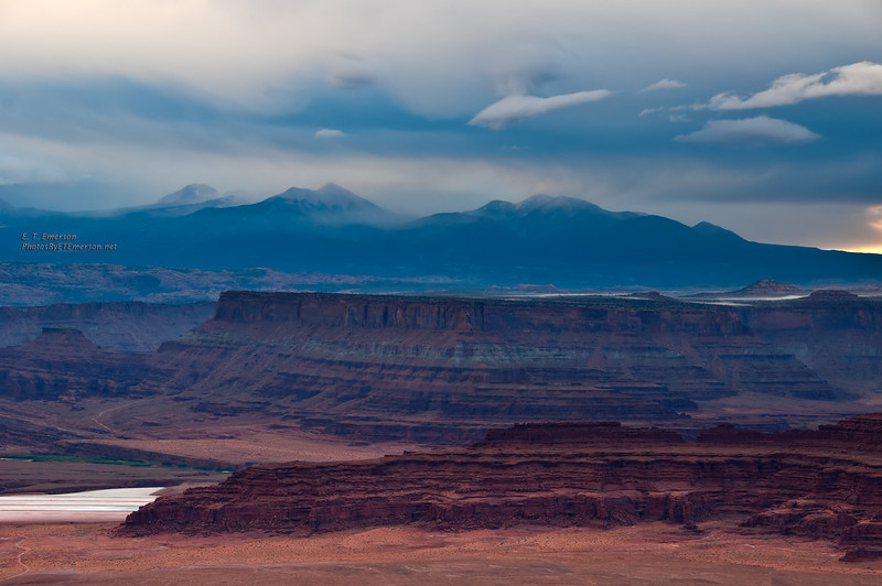 Dead Horse Point at Sunrise