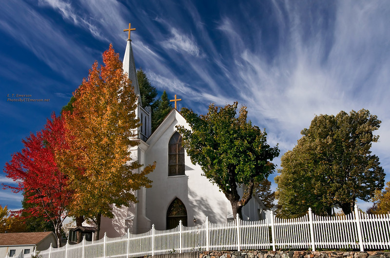 Nevada City Fall Color
