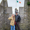 Bunratty Castle - Eileen's brother George and friend Kyle