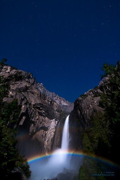 Moonbow Over Yosemite Falls