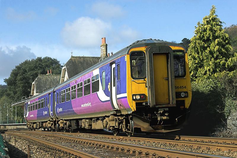 156454 Grange-over-Sands 1/4/2010<br /> 2C38 0901 Sellafield-Lancaster