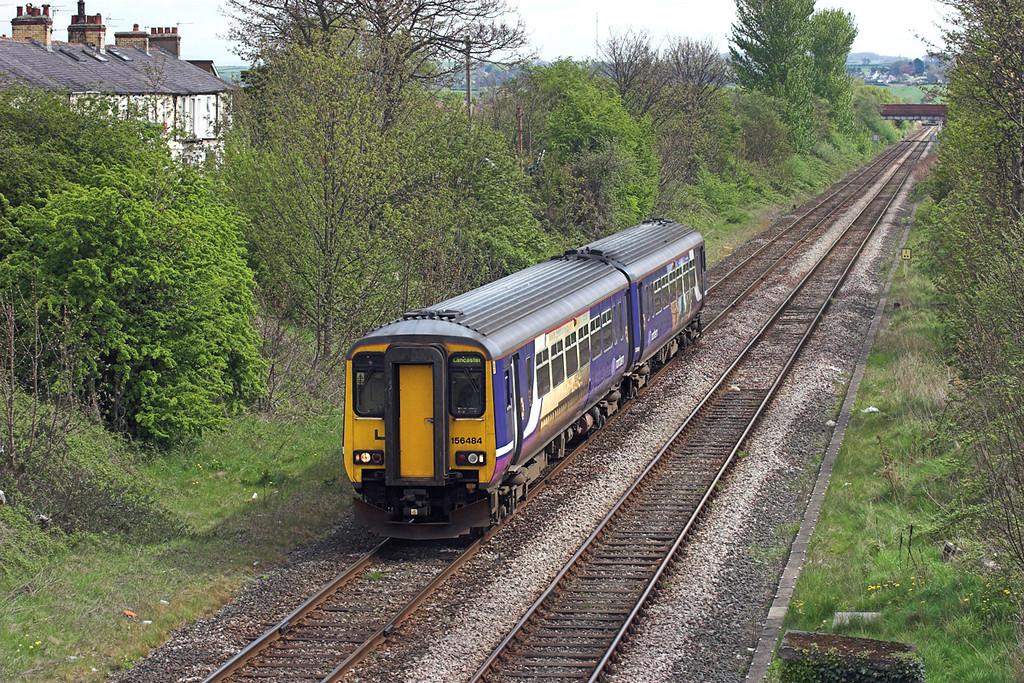 156484 Morecambe 1/5/2010<br /> 2C73 1123 Lancaster-Morecambe