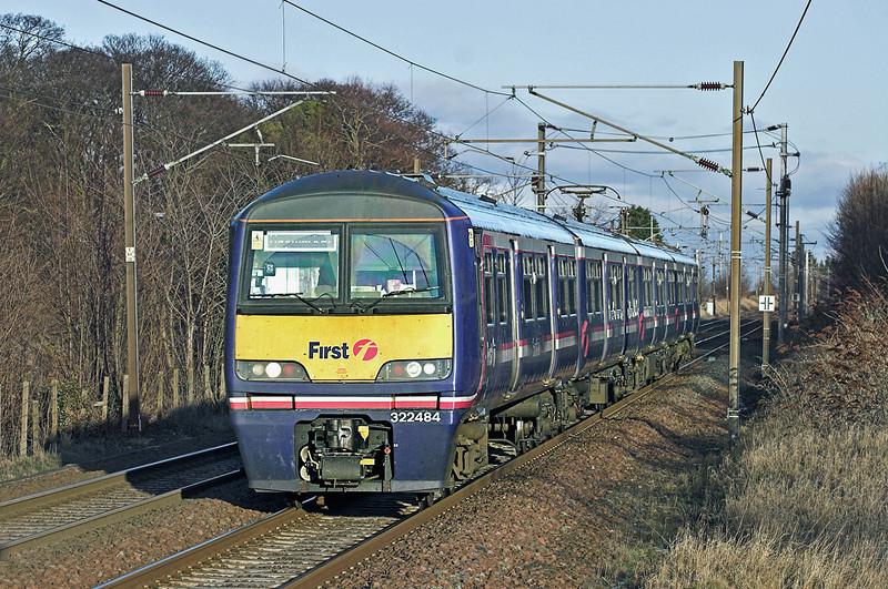 322484 Longniddry 2/2/2010<br /> 2Y07 1518 North Berwick-Haymarket