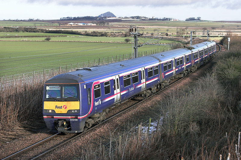 322481 Drem 2/2/2010<br /> 2Y01 1220 North Berwick-Edinburgh