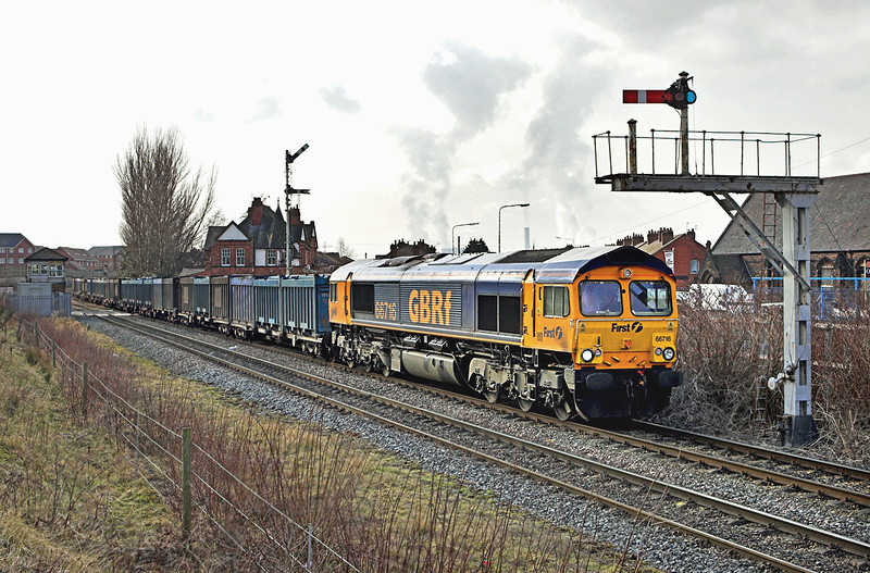 66716 Monks Sidings 2/3/2010<br /> 4C77 1230 Fiddlers Ferry PS-Newbiggin