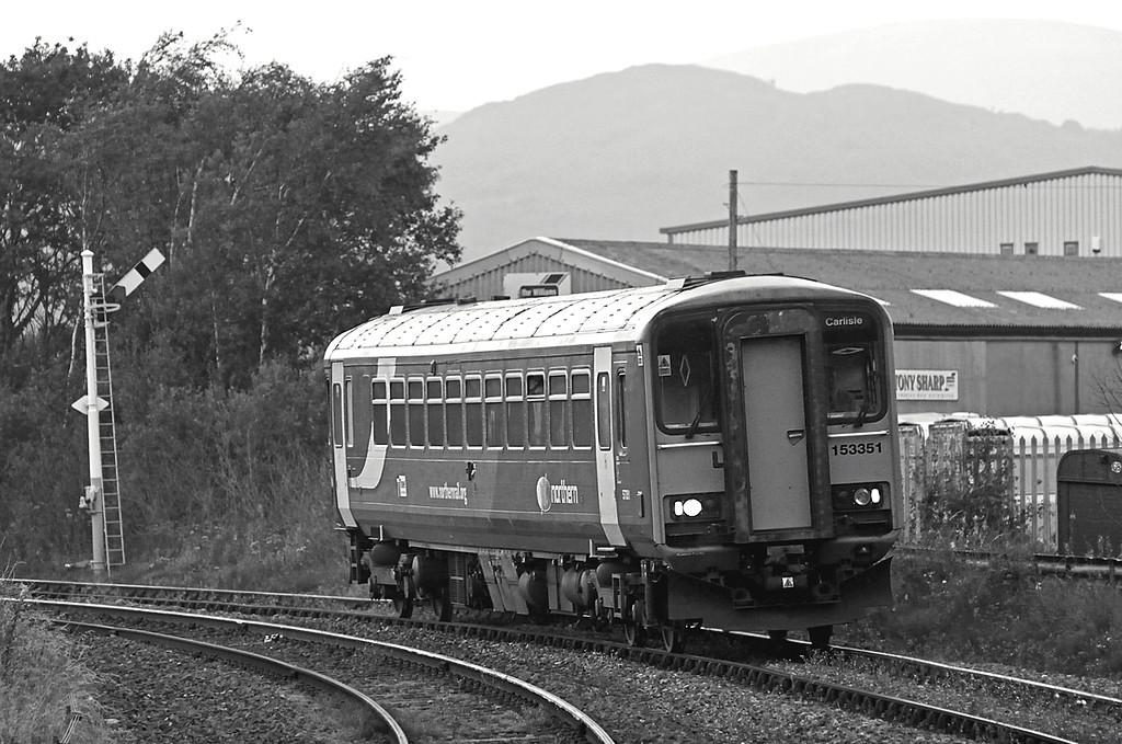 153351 Foxfield 2/9/2010<br /> 2C42 1727 Carlisle-Barrow in Furness