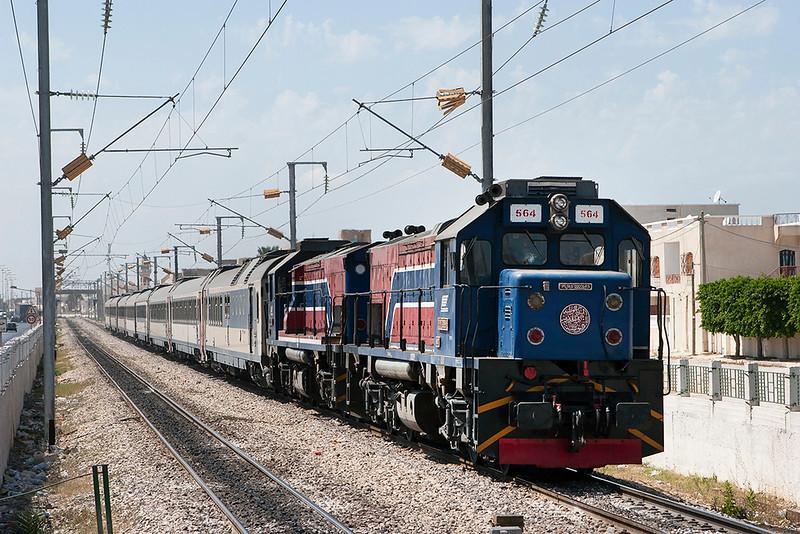 GT-564 and GT-541, Tahar Sfar 3/8/2010<br /> 5/73 1305 Tunis Ville-Gares