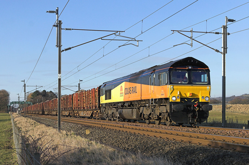 66843 Brock 4/3/2010<br /> 6J37 1251 Carlisle Yard-Chirk