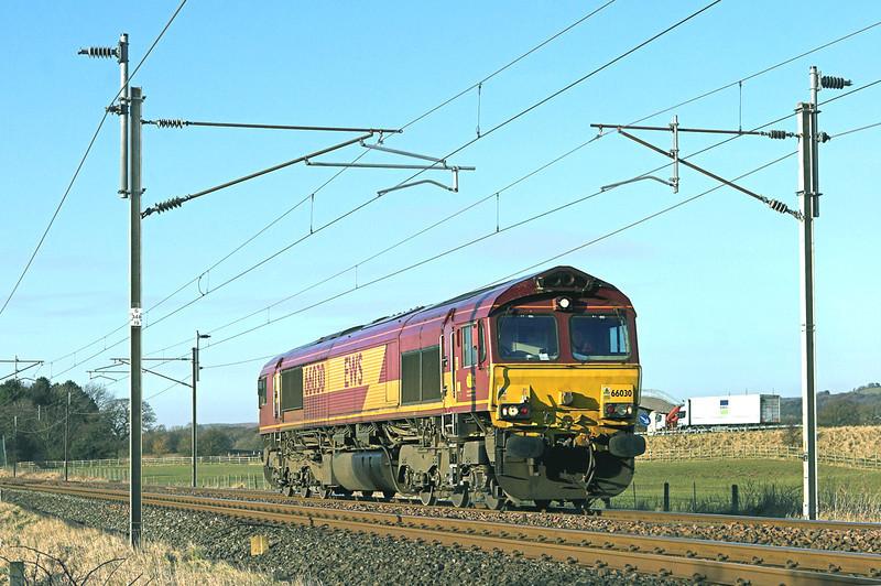 66030 Brock 4/3/2010<br /> 0L80 1445 Carlisle Yard-Beeston Sidings