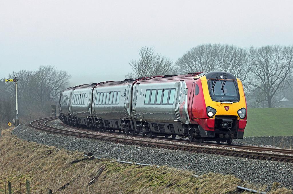 221112 Hellifield Green 6/2/2010<br /> 1M55 1140 Glasgow Central-Preston