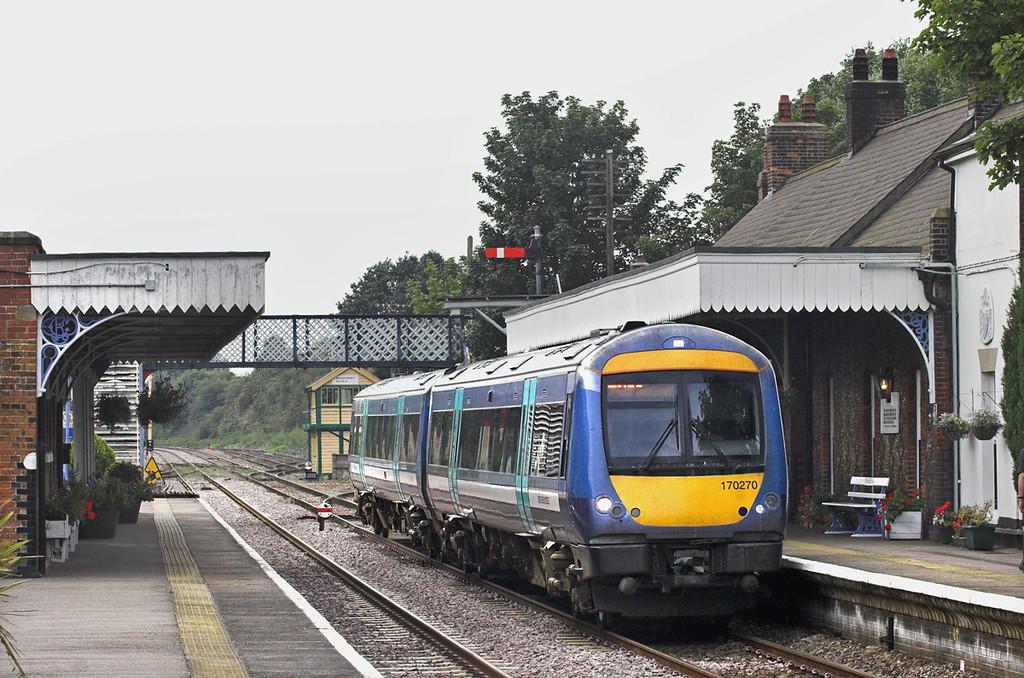 170270 Wymondham 6/9/2010<br /> 1K72 1312 Cambridge-Norwich