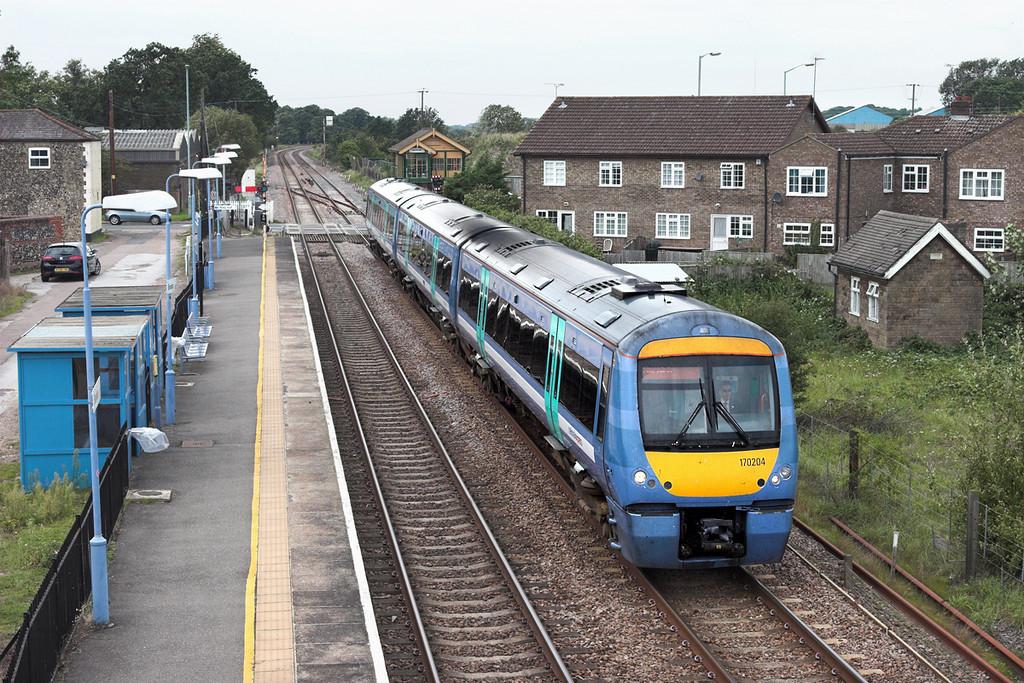 170204 Brandon 6/9/2010<br /> 1K70 1212 Cambridge-Norwich