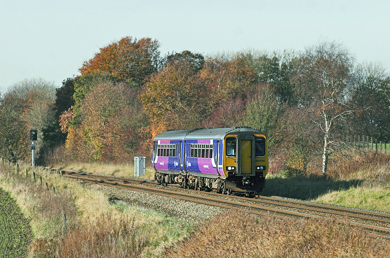 156426 Treales 7/11/2010<br /> 2N10 1124 Blackpool South-Colne