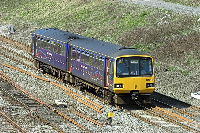 143611 Pilning 8/4/2010<br /> 2C77 1300 Cardiff Central-Exeter St Davids