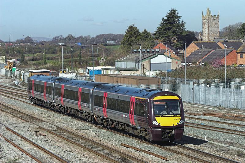 170107 Severn Tunnel Junction 8/4/2010<br /> 1M60 0945 Cardiff Central-Nottingham