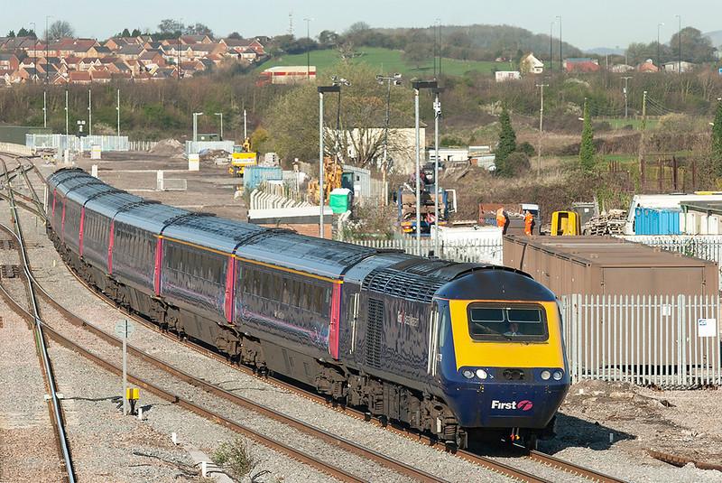 43179 and 43091, Severn Tunnel Junction 8/4/2010<br /> 1L34 0728 Swansea-London Paddington