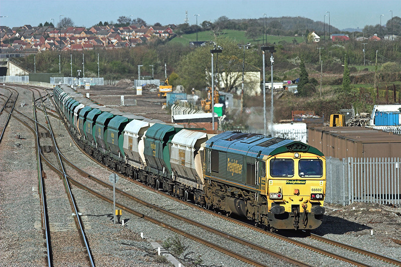 66602 Severn Tunnel Junction 8/4/2010<br /> 6A21 0828 Pengam-Theale