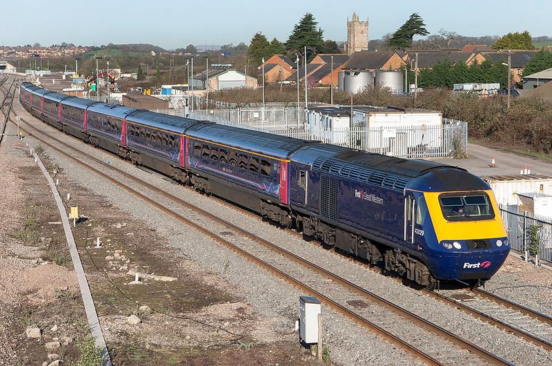 43025 and 43182, Severn Tunnel Junction 8/4/2010<br /> 1L32 0658 Swansea-London Paddington
