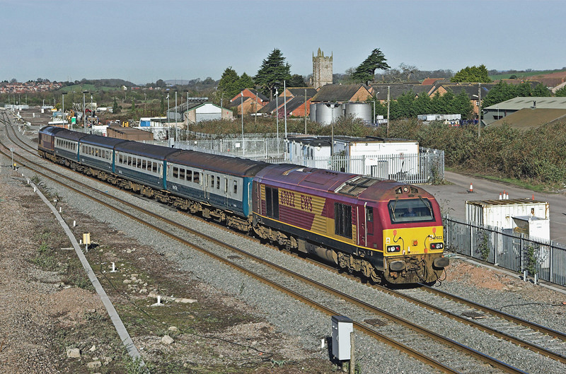 67022 and 67017, Severn Tunnel Junction 8/4/2010<br /> 2C67 0800 Cardiff Central-Paignton
